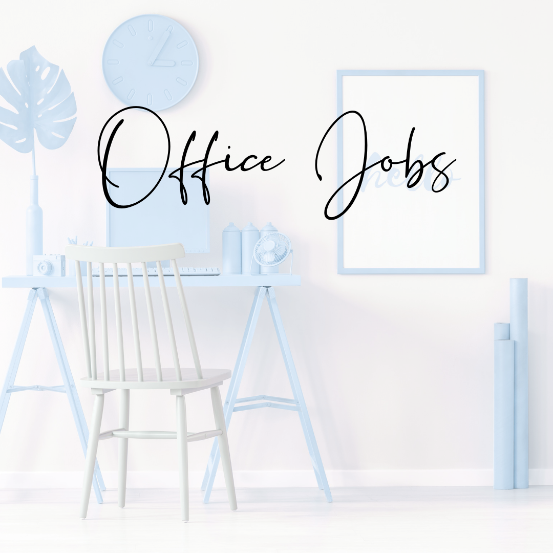 office jobs Ways to make money as a student