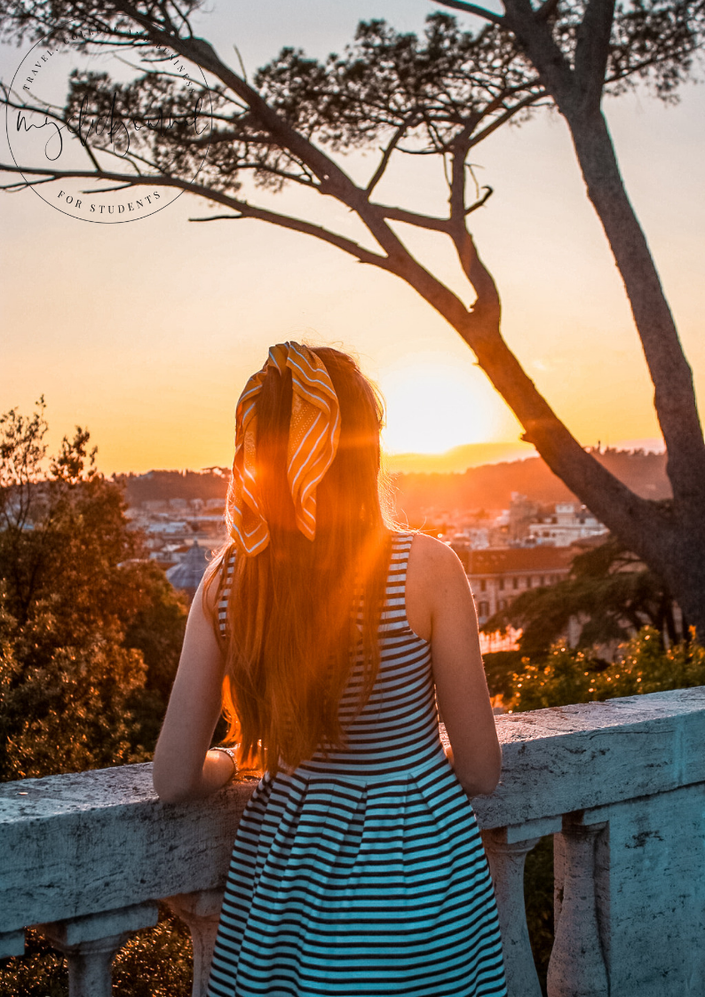 sunset in rome in 3 days itinerary
