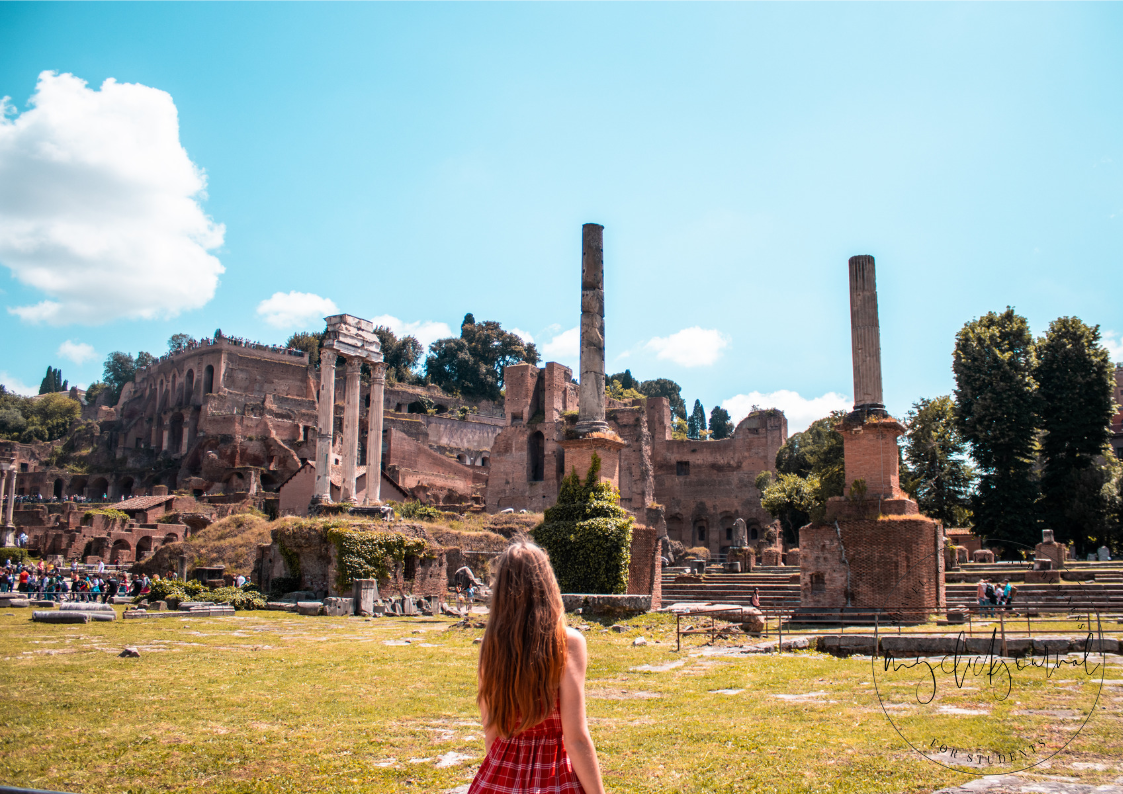 roman forum - rome in 3 days itinerary