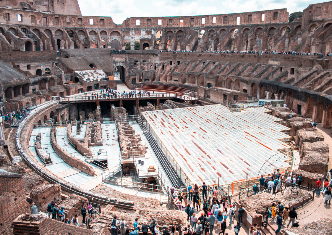 colosseum from the inside