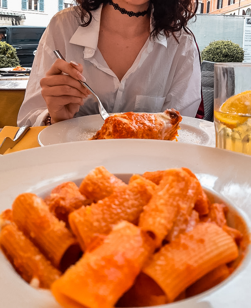 pasta in rome in 3 days itinerary