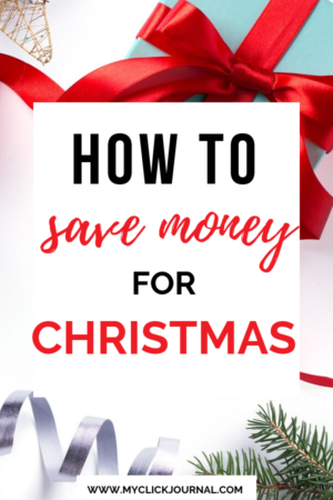 how to save money for christmas and the holidays