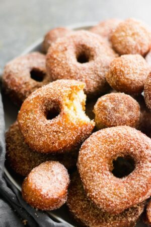 fall bucket list- apple cider donut recipe