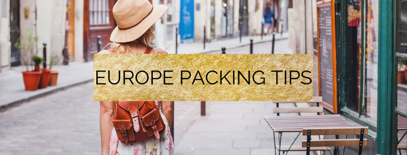 europe summer packing list and europe travel essentials