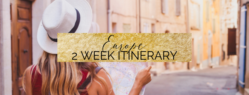 Europe 2 week itinerary by train