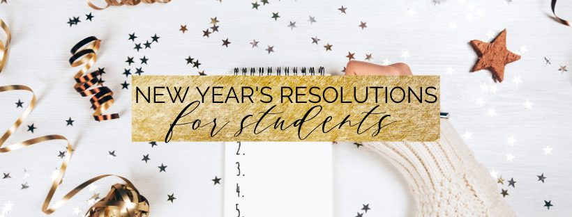 new year's resolutions for 2020 for students!
