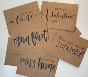 open when letters - gift ideas for her