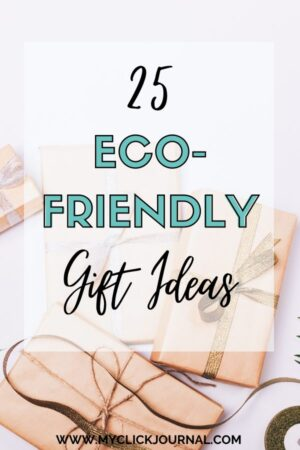 25 Eco-Friendly Gift Ideas for Christmas   Sustainable Gift Gift Guide   myclickjournal