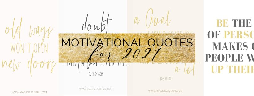 motivational quotes for 2021