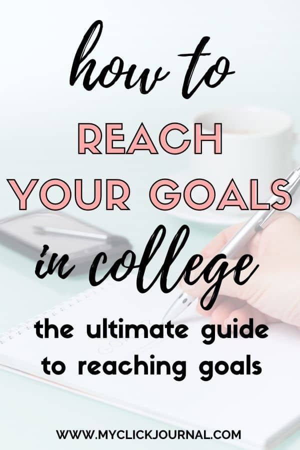 how to reach your goals and dreams in the new year | myclickjournal