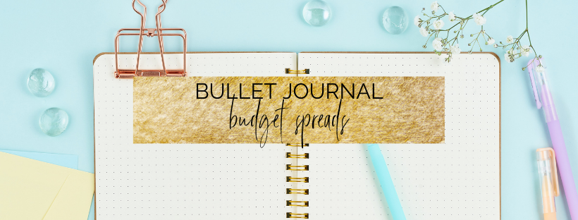 the best bullet journal budget spreads for college | myclickjournal