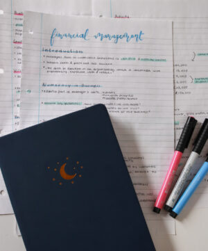 study notes for online college