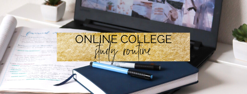 Use this Online College Study Routine to get a 4.0 GPA!