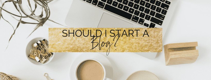 Should I start a blog in college?