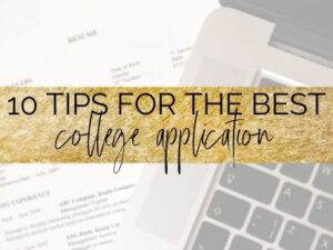 college application tips cover photo